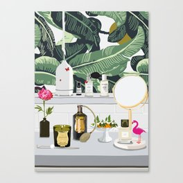 The Fragrance Cabinet Canvas Print