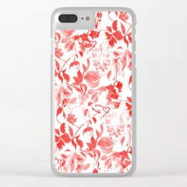 Pattern 78 Clear iPhone Case