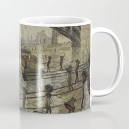 The Coalmen - Claude Monet Coffee Mug