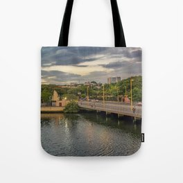 Estero Salado River Guayaquil Ecuador Tote Bag