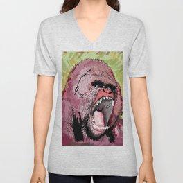 The gorilla  Unisex V-Neck