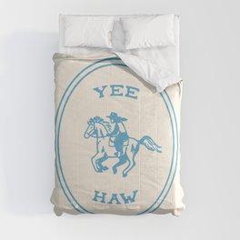 Yee Haw in Blue Comforters