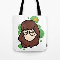 daria Tote Bags featuring Daria by ocamixn