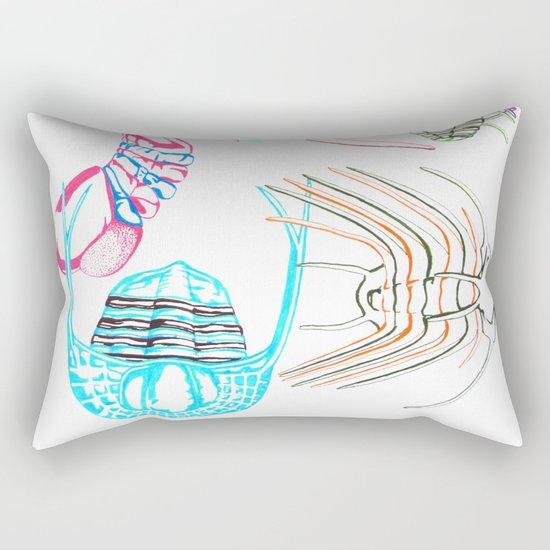 Ordovician Era Trilobites Rectangular Pillow