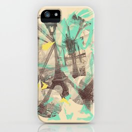 Paris Inception iPhone Case