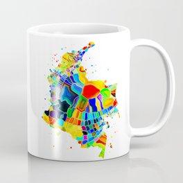 Colombia Map Coffee Mug