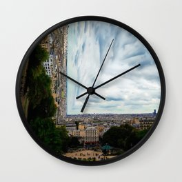 Surreal Paris Wall Clock