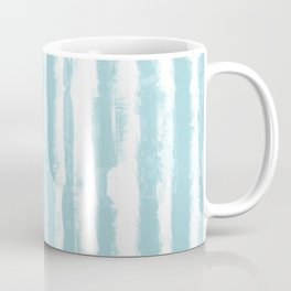 Shibori Stripe Seafoam Coffee Mug