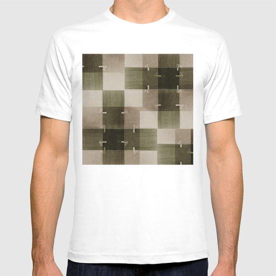 random pattern T-shirt