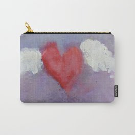 flying heart encaustic Carry-All Pouch