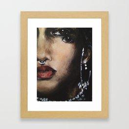 Fizar Face Detail Framed Art Print