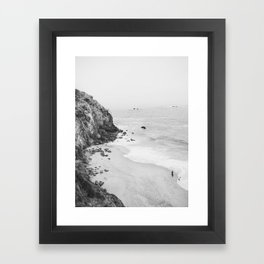 CALIFORNIA COAST III Framed Art Print