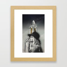 Shuttles to heaven Framed Art Print