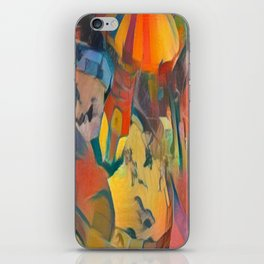 abstract Carnival ride iPhone Skin