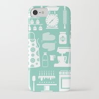 baking iPhone & iPod Cases featuring Baking Graphic by Modart Design