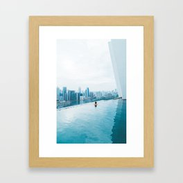 Malaysia Dips Framed Art Print