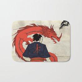Ronin and Dragoon Bath Mat