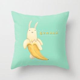 Bunana Throw Pillow