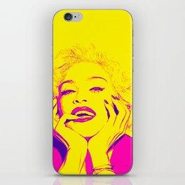 Bright Madonna iPhone Skin