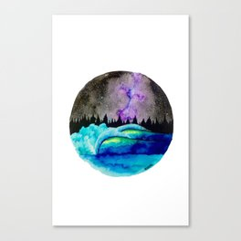 Universe Light Canvas Print
