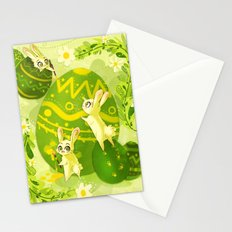 Easter Bunnies Stationery Cards