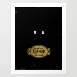 "Bunemo from Black Hole ""O"" (Virginale) Art Print"