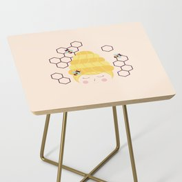 Lady Beehive Side Table