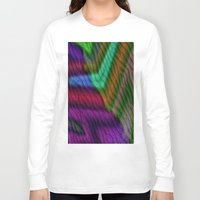knit Long Sleeve T-shirts featuring Knit by RingWaveArt