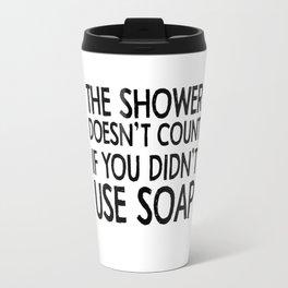 soap Travel Mug