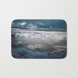 CLOUD NINE/FLY HIGH - feeling zero gravity Bath Mat