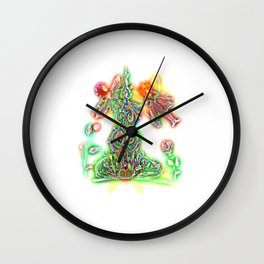 Fairies Wall Clock