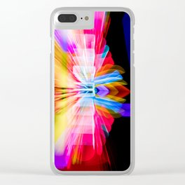 Lights Camera Action Fremont Theater zoom burst photograph Clear iPhone Case