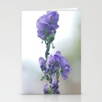 iris Stationery Cards featuring Iris by Bella Blue Photography