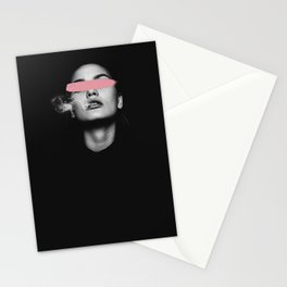 Look at me, Woman power art Stationery Cards