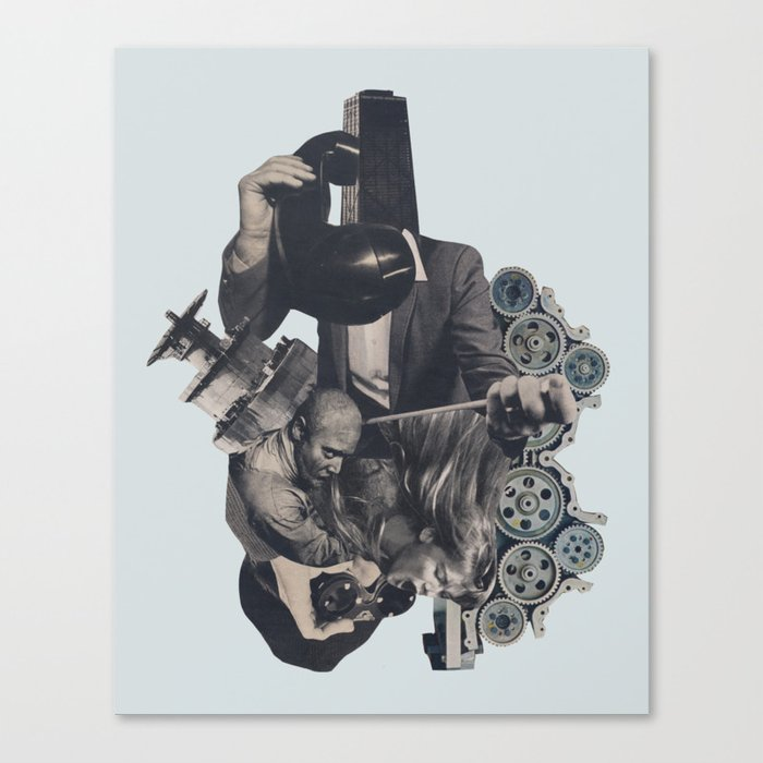 Aftershock Canvas Print