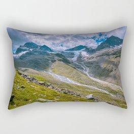 Glacial remains Rectangular Pillow
