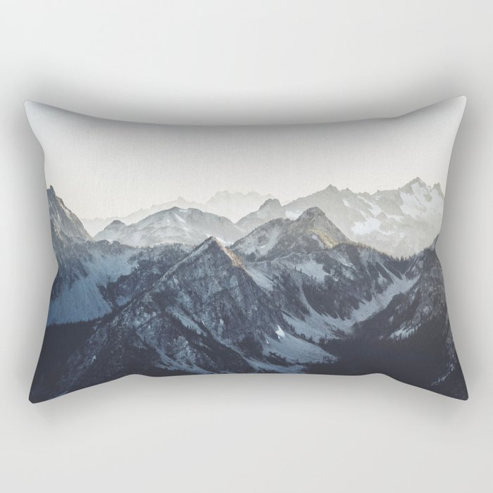 Mountain Mood Rectangular Pillow