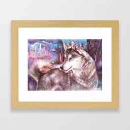 Hopeful Framed Art Print