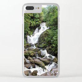 Irish Waterfall Oil Finish Clear iPhone Case