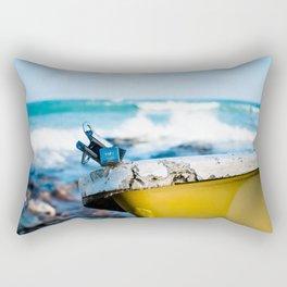 Raging Seas Rectangular Pillow