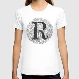 Succulent R T-shirt