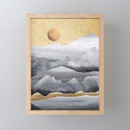 Mountainscape / Day Framed Mini Art Print