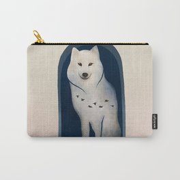 The Wolf Calling   Fantasy Animal Design Carry-All Pouch
