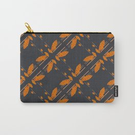 Orange chamomiles Carry-All Pouch