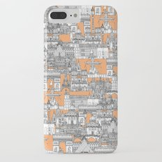 Paris toile cantaloupe Slim Case iPhone 7 Plus
