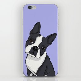 Boston Terrier Pup iPhone Skin