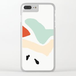 Matisse Shapes 5 Clear iPhone Case