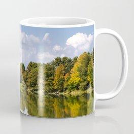 Fall Lake Landscape Coffee Mug