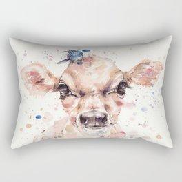 Little Calf Rectangular Pillow