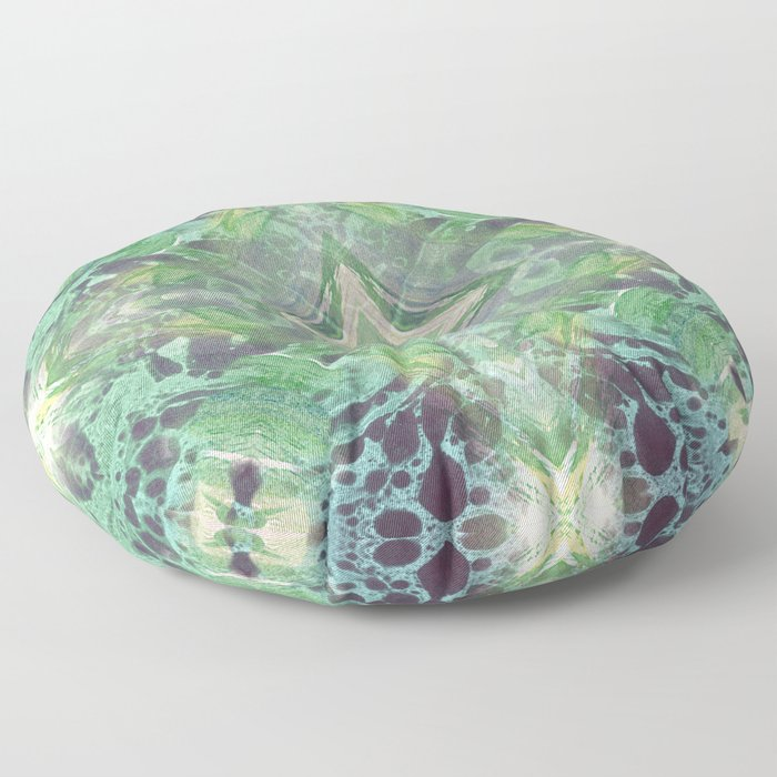 Abstract Texture Floor Pillow